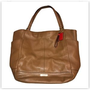 Coach Brown Large Tote